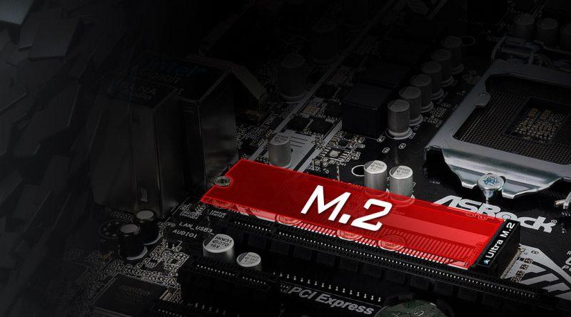 Les SSD en connectique M.2